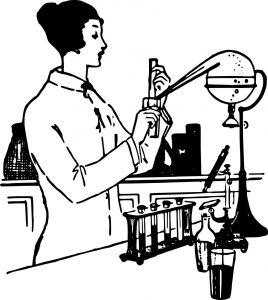 Woman Scientist Public Domain